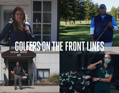 Golf Digest | Golfers on the Front Lines
