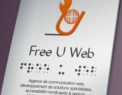 Brand identity for Free U Web