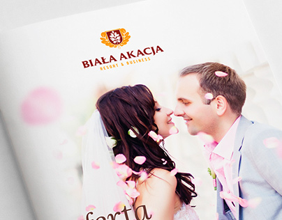 Logo / catalog / poster for Biała Akacja (Poland)