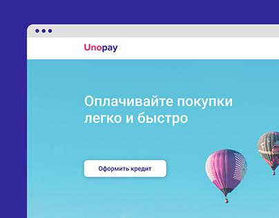 Unopay website