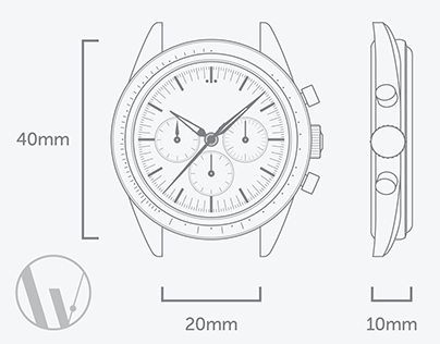 Blueprints of Popular Watch #2