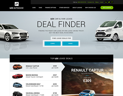 Lex Autolease Deal Finder Tool