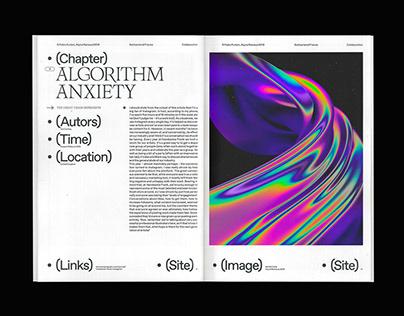 OFFBEAT DEMEANOR ⏤ Editorial Design