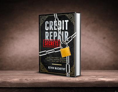 Credit Repair Secrets book cover design