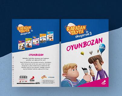 Children Book Cover Design | Rafadan Tayfa ile Okuyorum