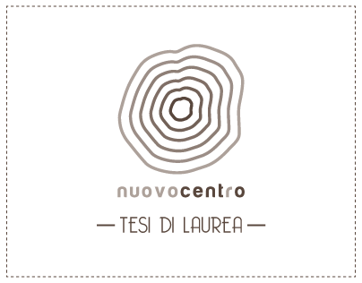 Nuovocentro tesi di laurea magistrale on behance for Laurea magistrale design