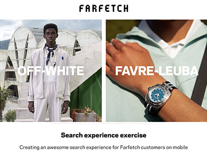 Farfetch - Search experience