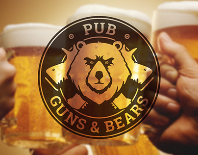 GUNS & BEARS Pub Logo