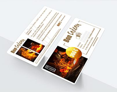 Carte cadeau - La Maison Luquet 2020