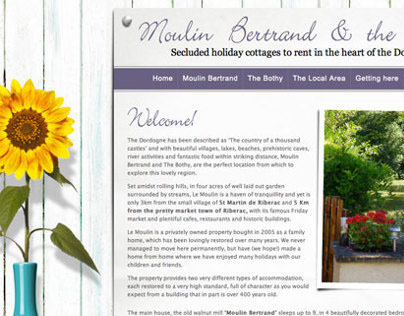 Moulin Bertrand - French Holiday Properties
