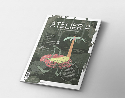 Atelier 23 - Magazine for designers and artists