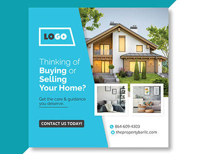 Real Estate Square Banner / Ad Banners
