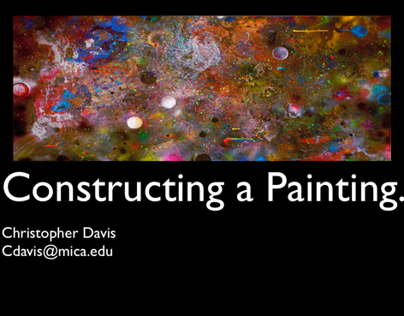 Constructing a Painting, 2011