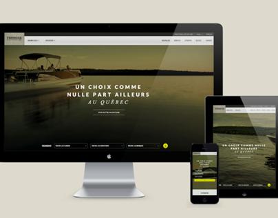 Thomas Marine - Redesign web