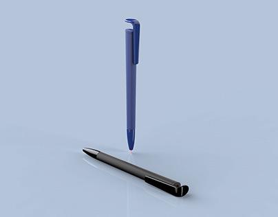 Ballpoint pen concept