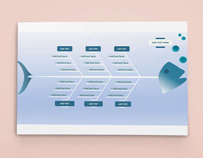 Fishbone Diagram Designed with PowerPoint