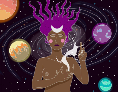 Galáctica - Mujer poderosa