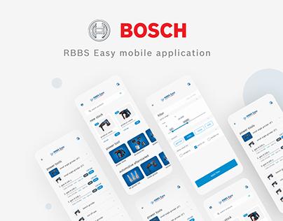 EASY BOSCH - App User Interface Design