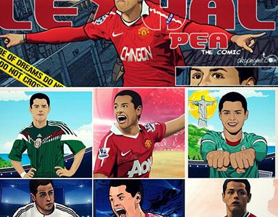 Javier Hernández al LA Galaxy
