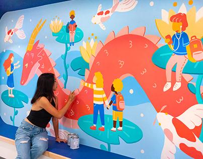 Chinatown NYC Community Murals