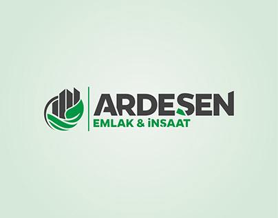 Ardeşen Emlak İnşaat Logo Tasarımı