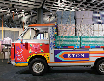 The Eton Shirt Indian Truck
