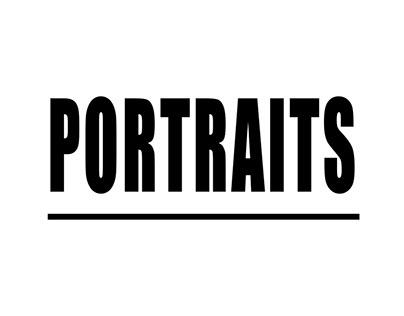 PROJECT // portraits