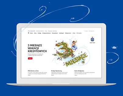 PKO Bank Polski website