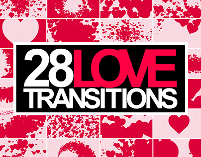 Wedding Hearts Transitions Pack