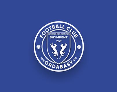 Concept design logo of FC Ordabasy