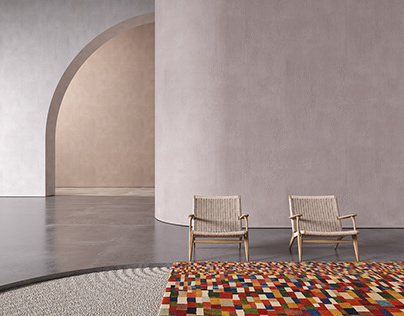 Naziri Carpets - Product Visualization Set Design