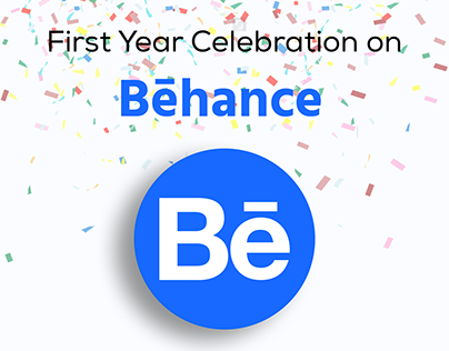 My First Year Celebration on Behance