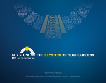 Print design for Keystone Investment