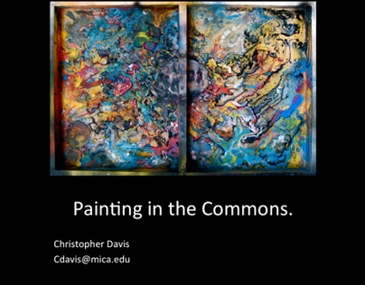 Painting in the Commons 2010, 2011