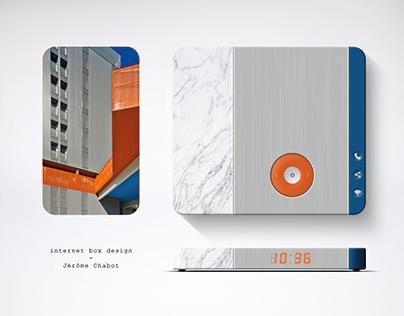 Internet box concept