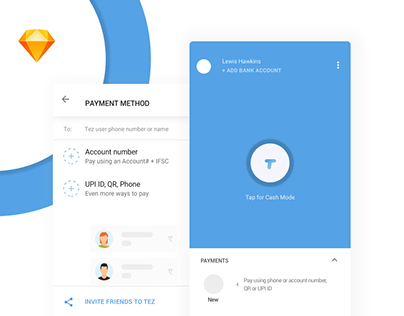 Tez-The new google payment app redesign