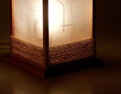 Protótipo de luminária