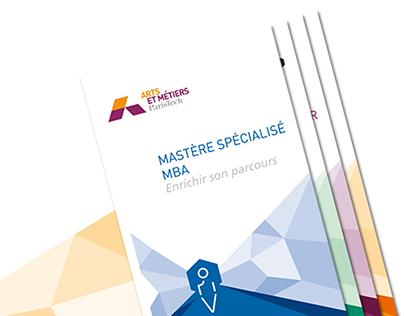 Arts et Métiers ParisTech - Plaquette filières