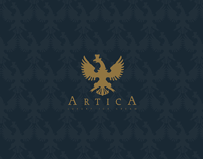 Artica Luxury Ice Cream - Brand Identity