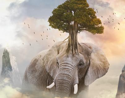 Fantasy Elephant Tree • Manipulation