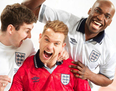 JJB England shirts campaign