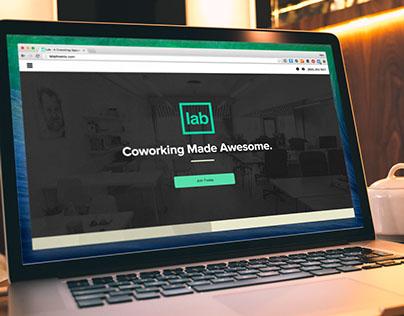 Lab Coworking Space Website