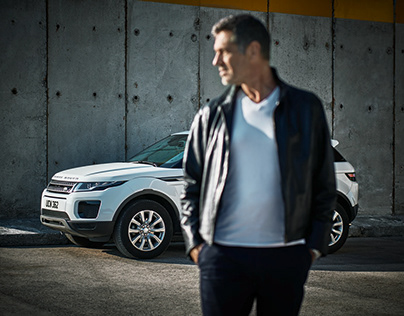 Shoot with Range Rover Evoque in Spain...