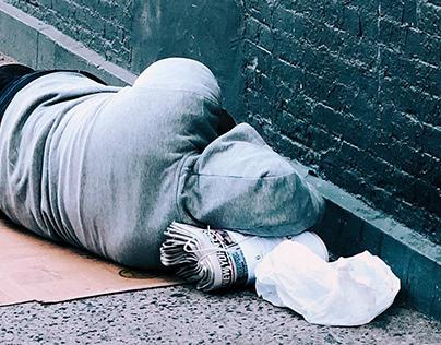Abreego! UX Case Study Research. Personas sin hogar