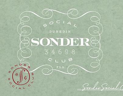 * Sonder Social Club : Cocktail Bar//