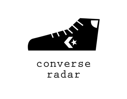 Converse radar