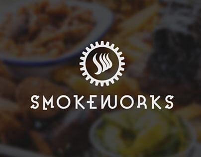 Brand design - Smokeworks restaurant