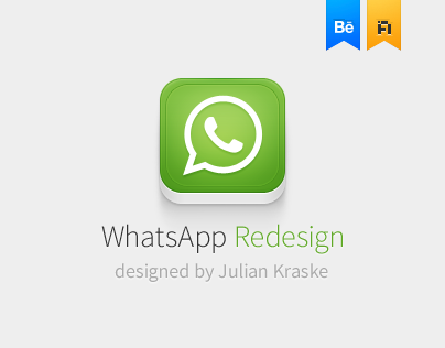 WhatsApp - Redesign Concept