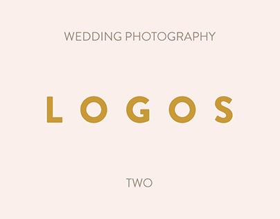 Freebie - Photography Logo Templates #2 - Weddings