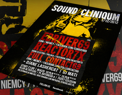 Sound Cliniqum posters